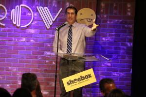 Rob Riggle Hosts Shoebox's 29th Birthday Celebration