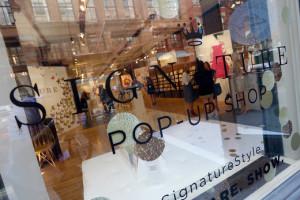 Signature Pop-Up shop